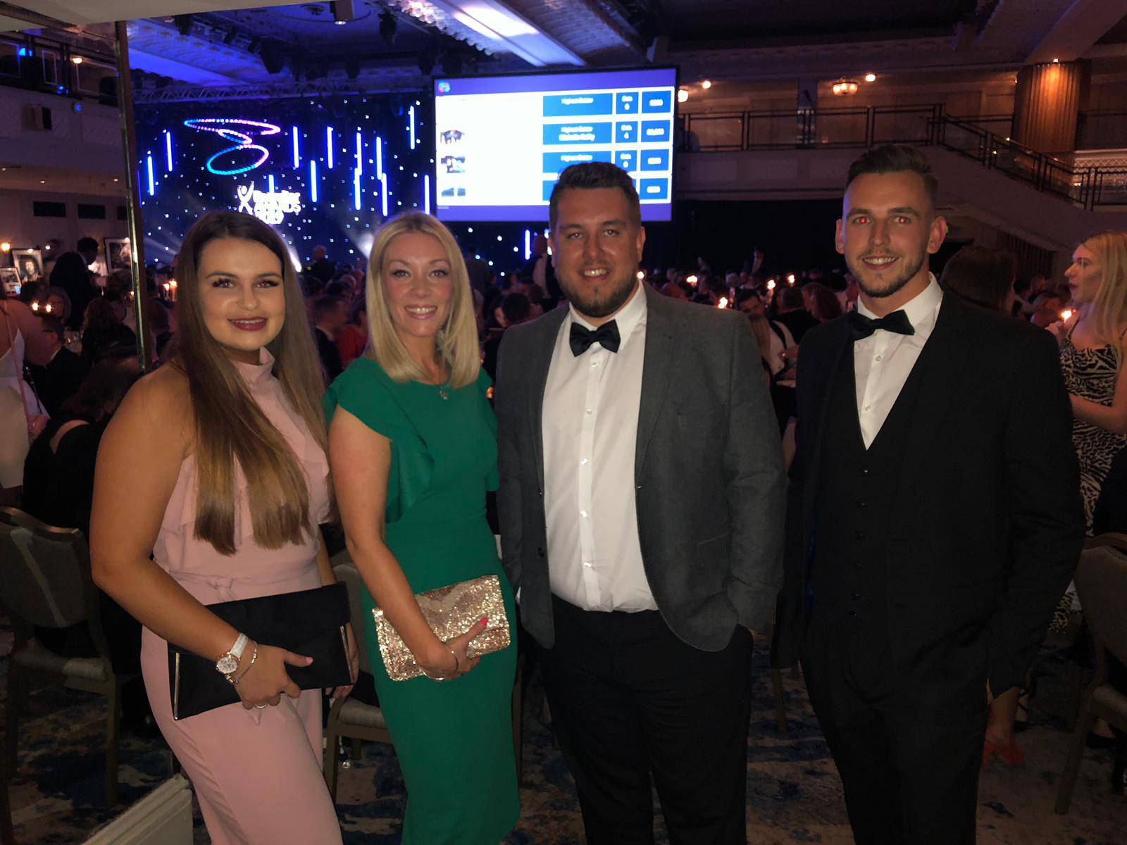 DATS Recruitment Team at Recruiter Awards in London