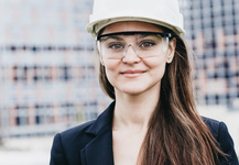 Female Engineer Goggles